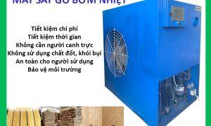 Lò sấy gỗ công nghệ bơm nhiệt 7 khối