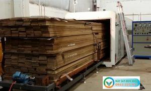 Lò sấy gỗ bằng điện Kenview