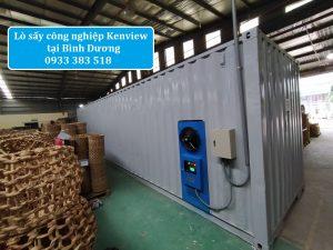 2. Lò sấy công nghiệp lắp đặt tại Bình Dương