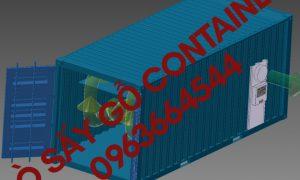 Lò sấy gỗ công nghiệp lắp bằng container giá rẻ 0963664544