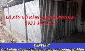 KENVIEW LẮP ĐẶT LÒ SẤY GỖ CÔNG NGHIỆP TẠI TPHCM