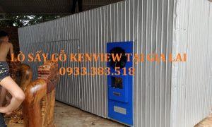 Kenview cung cấp lò sấy gỗ bằng điện 5m3 tại Gia Lai. 0933.383.518