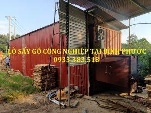 Lò sấy gỗ đốt củi Kenview- Lắp đặt lò sấy tại Bình Phước.0933.383.518