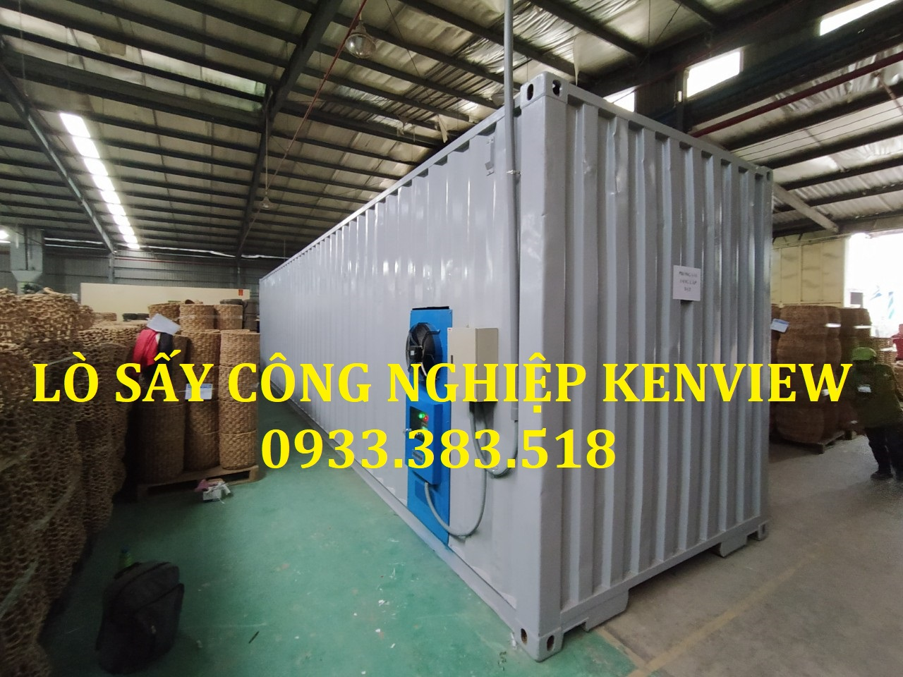 Lò sấy container