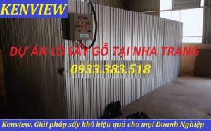Lò sấy gỗ Kenview tại Nha Trang