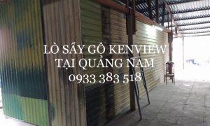 Lò sấy gỗ công nghiệp bằng điện Kenview -lắp đặt lò sấy gỗ tại Quảng Nam.