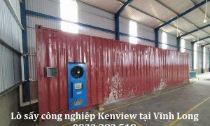 Lò sấy công nghiệp Kenview tại Vĩnh Long- Sấy hàng thủ công mỹ nghệ.