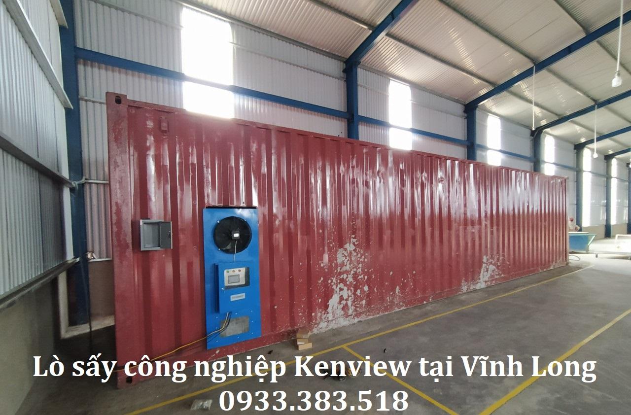 Lò sấy công nghiệp Kenview tại Vĩnh Long- Sấy đồ mỹ nghệ, đồ dùng gia đình.