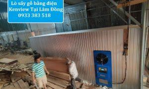 Lò sấy công nghiệp Kenview- Lò sấy gỗ tại Lâm Đồng.