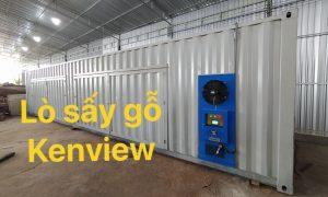 Lò sấy gỗ Kenview tại Long An – Lò sấy công nghiệp Kenview