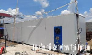 Lò sấy gỗ bằng điện Kenview tại Cần Giờ, Tp.HCM