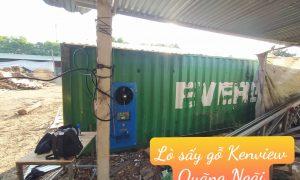 Lò sấy gỗ Kenview – Lắp đặt lò sấy gỗ tại Quảng Ngãi