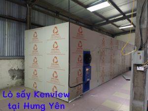 Lò sấy gỗ bằng điện KenView tại Hưng Yên