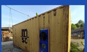 Lò sấy gỗ pallet Kenview lắp đặt tại Hóc Môn. Công nghệ sấy gỗ bằng điện