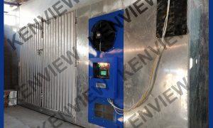 Lò sấy gỗ bằng điện Kenview lắp đặt tại Đồng Nai.