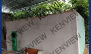 Lò sấy gỗ bằng điện Kenview bàn giao tại TP.Đà Lạt, Lâm Đồng