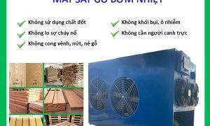 Lò sấy gỗ công nghệ bơm nhiệt
